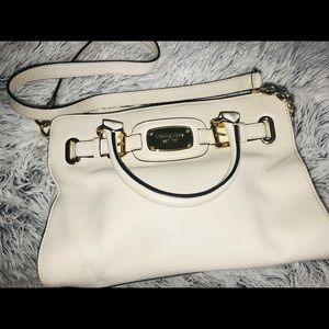 Michael Kors purse, Cream Leather shoulder bag